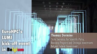 LUMI Kickoff Presentation   Thomas Dermine