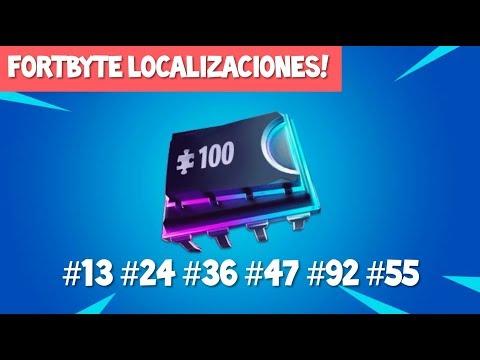 FORTBYTE Localizaciones! #13 #24 #36 #47 #92 #55