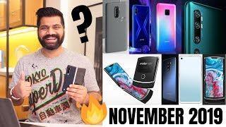 Top Upcoming Smartphones - November 2019???