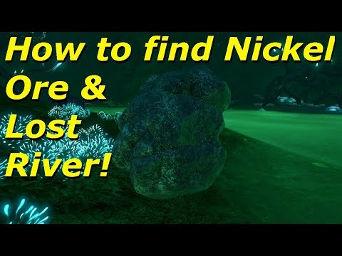 How to find Nickel Ore & Lost River In Subnautica (Full Release)