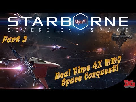 Starborne  Real Time 4x MMO ► Outposts and Supply Basics! *Part 3* (1440p/60)