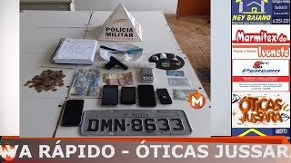 Operação em conjunto entre a Polícia Militar e Polícia Civil prende três traficantes
