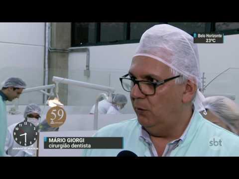 Renata Banhara se recupera de infecção e tem quadro de saúde estável - SBT Brasil (12/04/17)