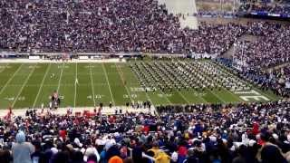 Nittany Lions!!!!  The Pennsylvania State University Marching Blue Band. 11/23/13 vs Nebraska