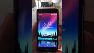 Saltar Patrón de Desbloqueo en LG K4