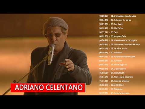 Adriano Celentano Greatest Hits Collection 2018 - The Best Of Adriano Celentano Full Album
