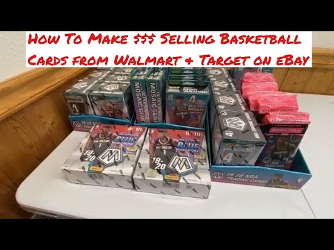 How To Make Money Selling Basketball Cards From Walmart & Target On Ebay