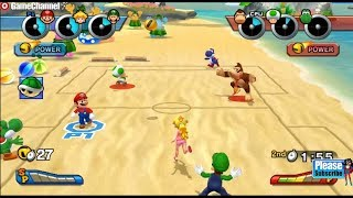 Mario Sports Mix - Mario And Friends DodgeBall Games - Videos Games - Nintendo Wii Edition
