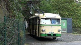 Solingen O-Bus Uerdingen/Henschel auf O-Bus-Drehscheibe 14.09.2014