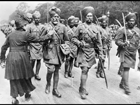 The British Indian Army in World War 1