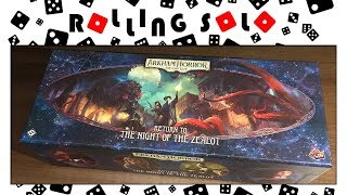 Arkham Horror: The Card Game | Return to the Night of the Zealot  | Unboxing