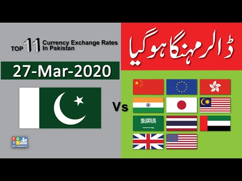 us-dollar-rate-today-|-forex-exchange-rate|-top-11-currencies-vs-pkr-|-27-03-2020-|-fbtv-markets