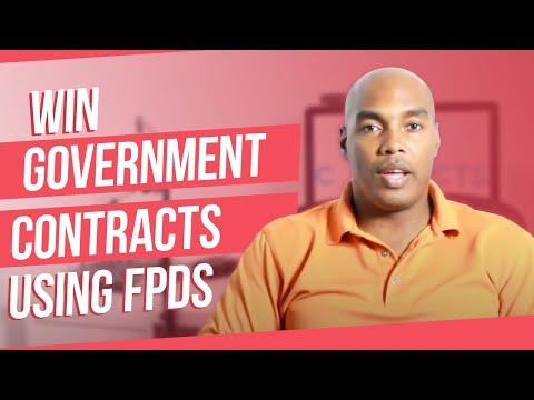 Build a Target Market List using FPDS (Federal Procurement Data System)