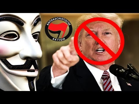 Anonymous - YOU WILL NOT BELIEVE THIS SHOCKING NEWS... (ANTIFA take out Donald Trump)