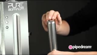 Вибратор Pure Aluminium Large Silver - Краснодар