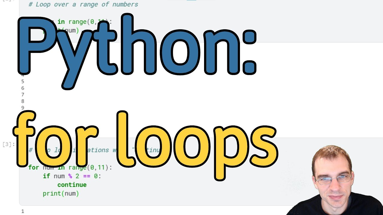 How to Make a For Loop in Python