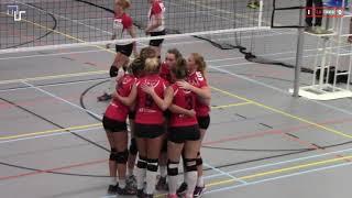 Volleybal Dames Promotieklasse D: Flash Nieuwleusen D2 - Rouveen D1 [06-10-2018]