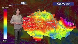Speciál o počasí: vítr v Česku