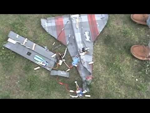 RC Space Shuttle Crash - YouTube