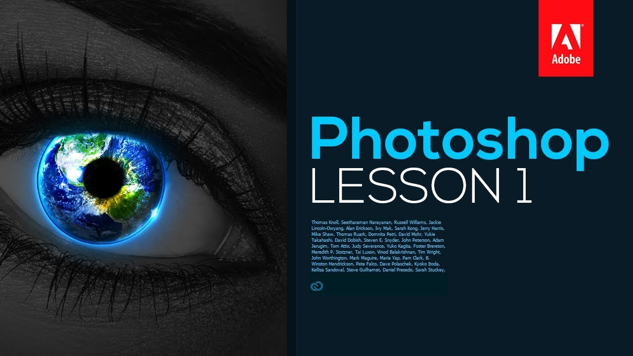 Adobe Photoshop CC 2017: Tutorial for Beginners – Lesson 1 (Layout & User Interface)