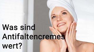 Was sind Antifaltencremes wert?