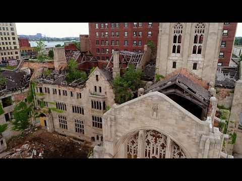 Abandoned City United Methodist Church   Gary Indiana   July 2017