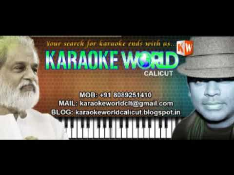 THENNALE MANI THENNALE  KARAOKE   VASANTHATHINTE KANAL KARAOKE WORLD+918089251410VAZHIKAL