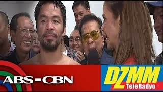 WATCH: What Pacquiao plans to do after win over Matthysse