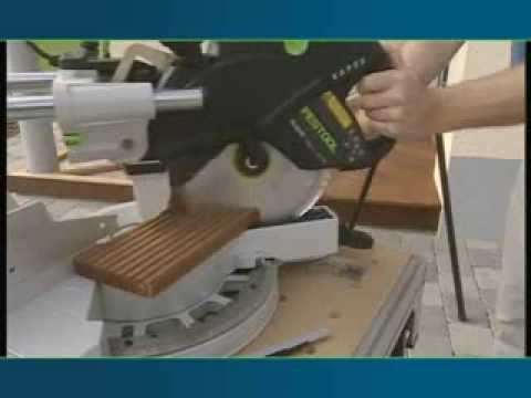 festool scie onglets radiale kapex ks 120 youtube. Black Bedroom Furniture Sets. Home Design Ideas
