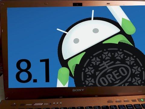 Андроид на ПК. Установка Andoid 8.1 на ноутбук (через USB)