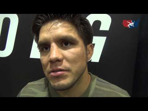Olympic champion Henry Cejudo on UFC success at the UFC Go Big event