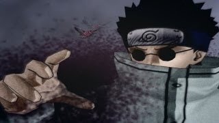 (PCSX2) Naruto Ultimate Ninja 2 Walkthrough Part 8 Shino vs Kankuro (Chuunin Exams) (720p)