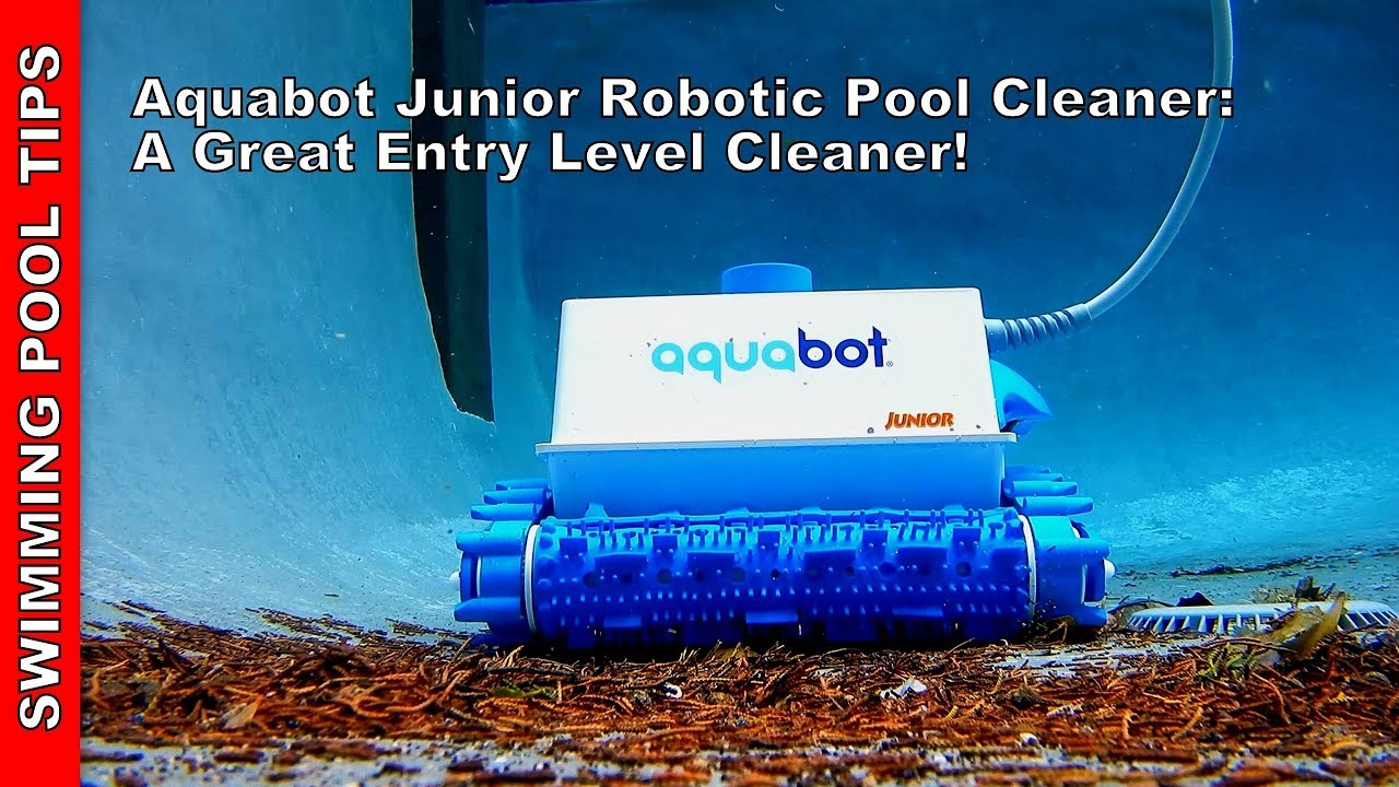 Aquabot Junior Robotic Pool Cleaner - A Great Entry Level Cleaner Priced At  550