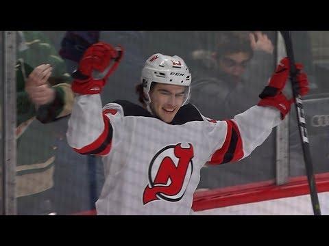 Nico Hischier wins it for Devils in overtime