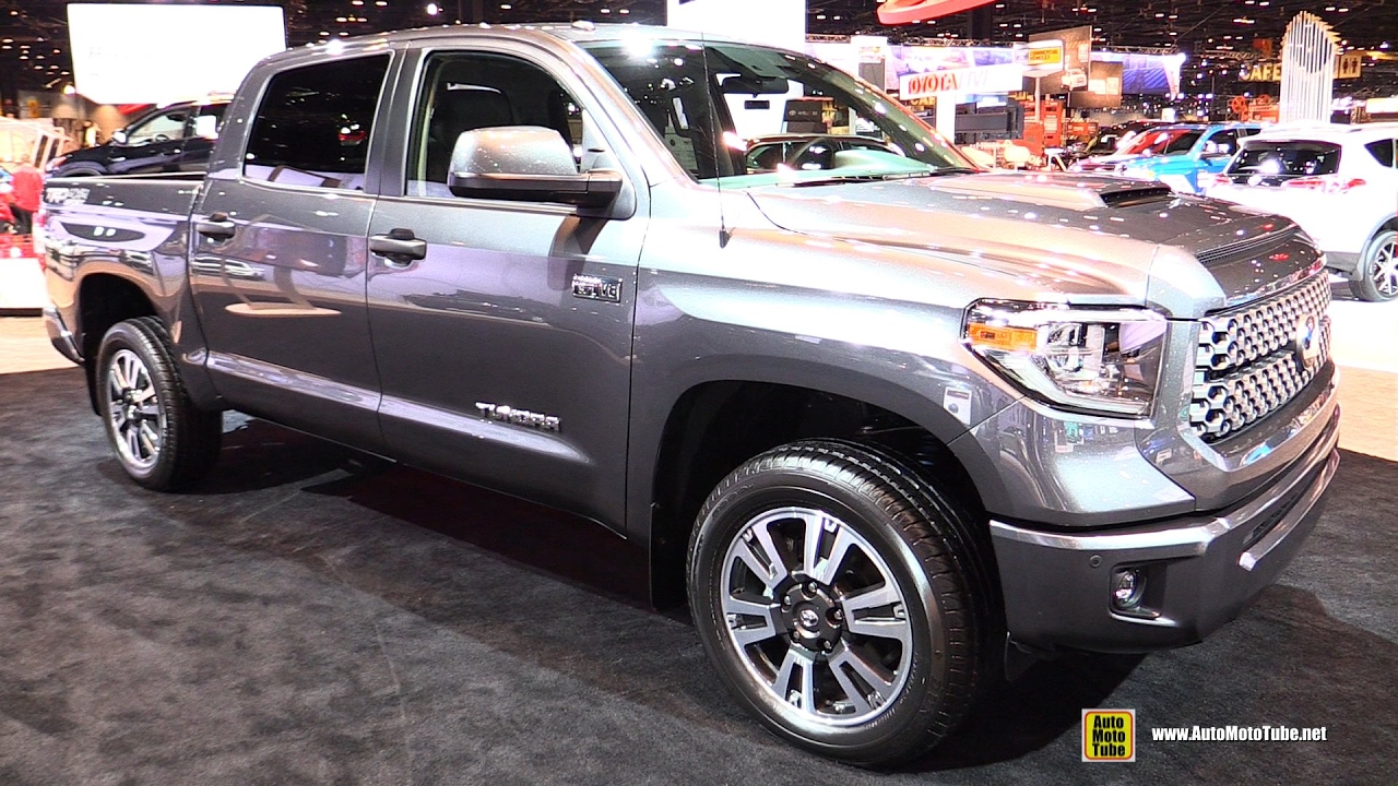 2018 toyota tundra interior. brilliant tundra 2018 toyota tundra trd sport  exterior and interior walkaround 2017  chicago auto show youtube inside toyota tundra interior i