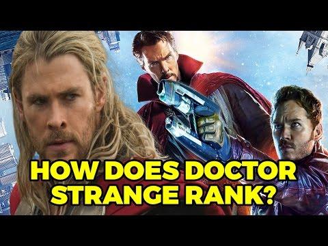 How Does Doctor Strange Rank Against Other MCU Films?: Podcast Clip #Doctorstrange