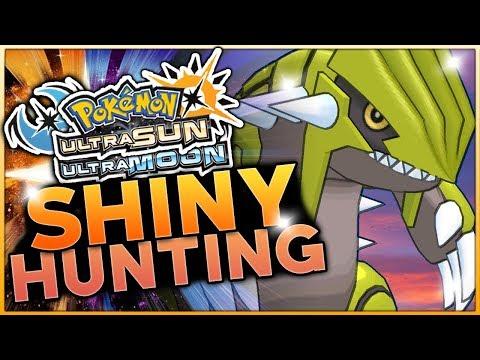 LIVE ULTRA WORMHOLE SHINY GROUDON HUNTING! Pokemon Ultra Sun and Ultra Moon Shiny Hunting w/ HDvee
