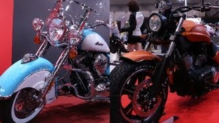 Indian & VICTORY 2013 最新モデル! Chief Vintage, VICTORY JUDGE, New Model