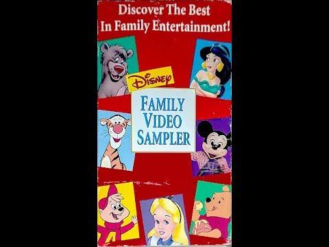 Disney Family Video Sampler - 1995 Edition [VHS]