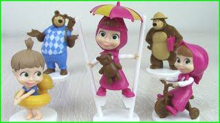 Игрушки Маша и Медведь на ЛЕТНИХ КАНИКУЛАХ! Новая коллекция Sweet Box 2019 с Машей