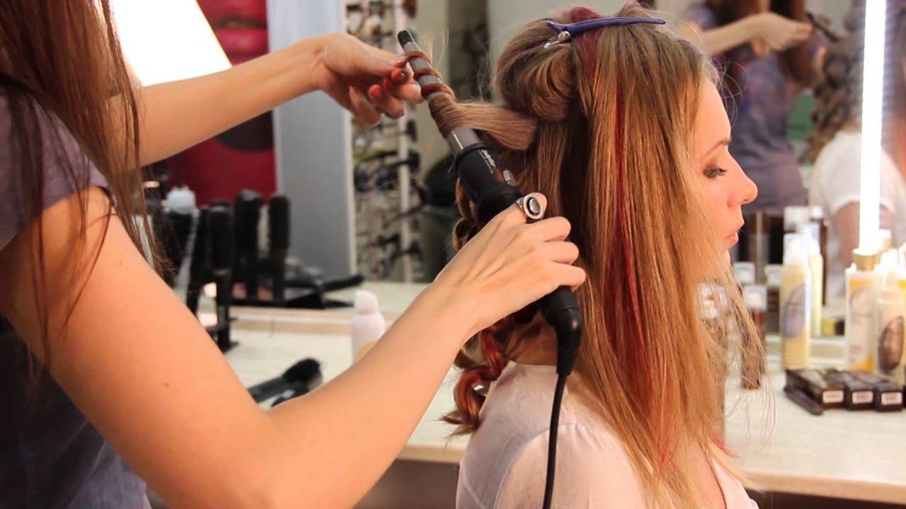 Как правильно крутить волосы конусной плойкой