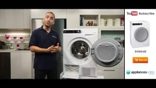 9kg Gorenje Heat Pump Dryer D9864E reviewed by expert - Appliances Online