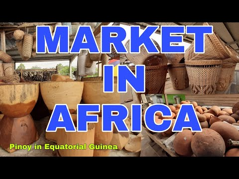 Pinoy in Equatorial Guinea... MARKET IN AFRICA.....