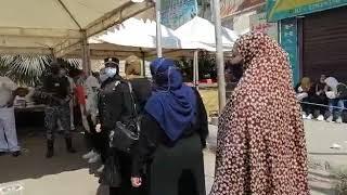إقبال كثيف من الناخبين على لجان حدائق القبة (فيديو)