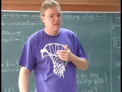 Convolution algebras and enveloping algebras (Jan Schroer)