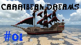 Caribbean Dreams (Minecraft Adventuremap) #01 In der Welt der Piraten [German/HD]