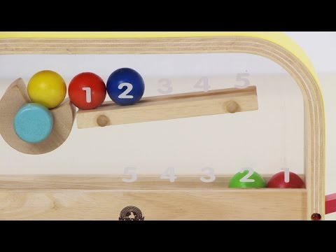MATHEMATICAL SKILL!!! COUNTING BALL ++I love edutainment++ #Toy Review