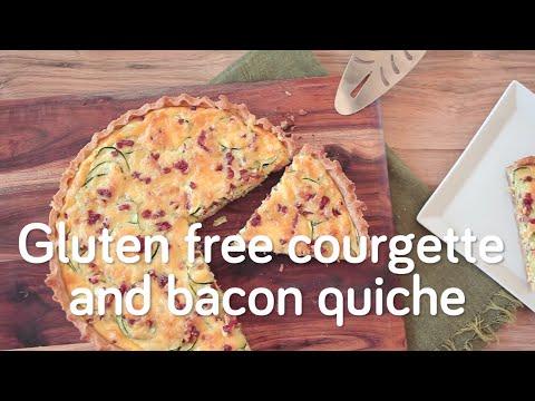 Gluten-Free Zucchini Quiche