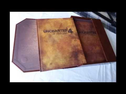 The art of uncharted 4 limited edition review & unboxing