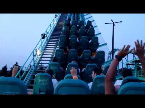 Canada's Wonderland: Leviathan / On Ride POV / July 11, 2015